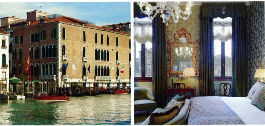 The Gritti Palace, Venice, Italy    Image: American Express Fine Hotels & Resorts Travel Guide, 2014