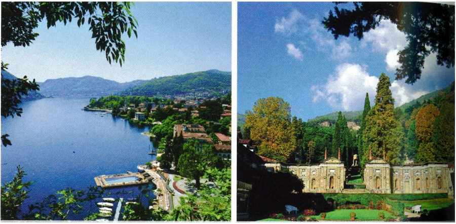 Villa D'Este, Lake Como, Italy    Image: American Express Fine Hotels & Resorts Travel Guide, 2014