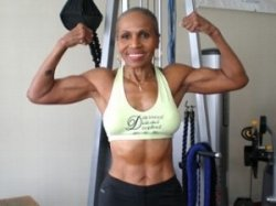Now 79, Ernestine Shepherd holds the title of Guiness World Records' oldest female bodybuilder.