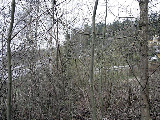 Ny lokalväg i Tollered - före