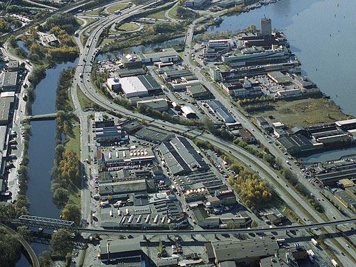 Partihallsområdet Göteborg innan ombyggnad