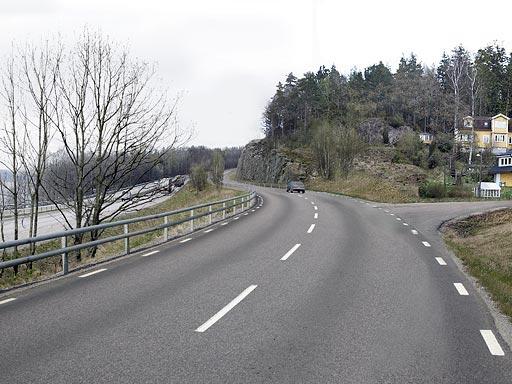 Ny lokalväg - planerat utseende
