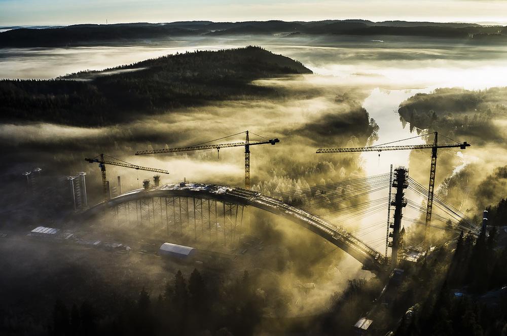 Bron över Örekilsälven