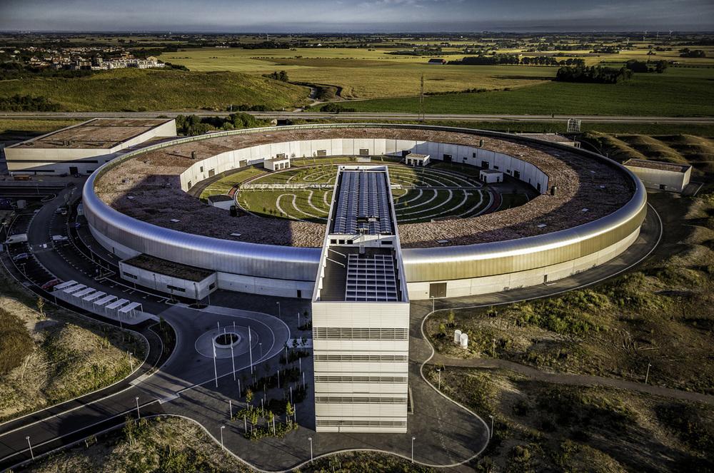Partikelaccelerator i Lund