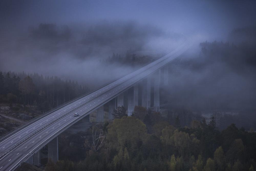 Bro över Hudälven
