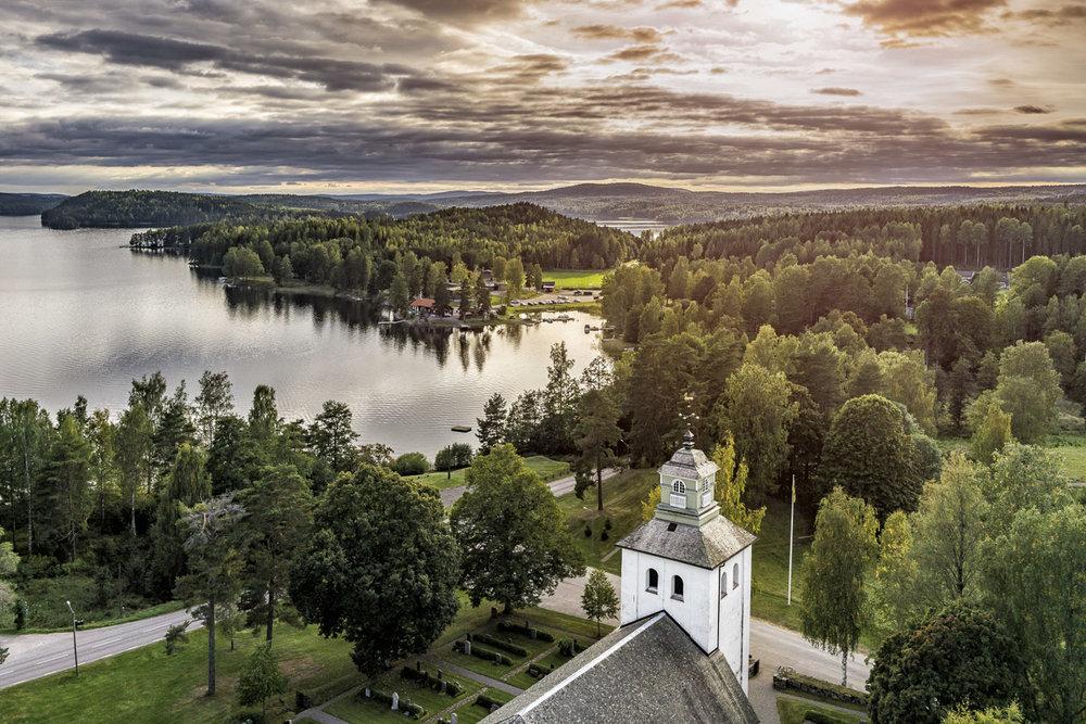 Värmskogs kyrka och café, Värmland