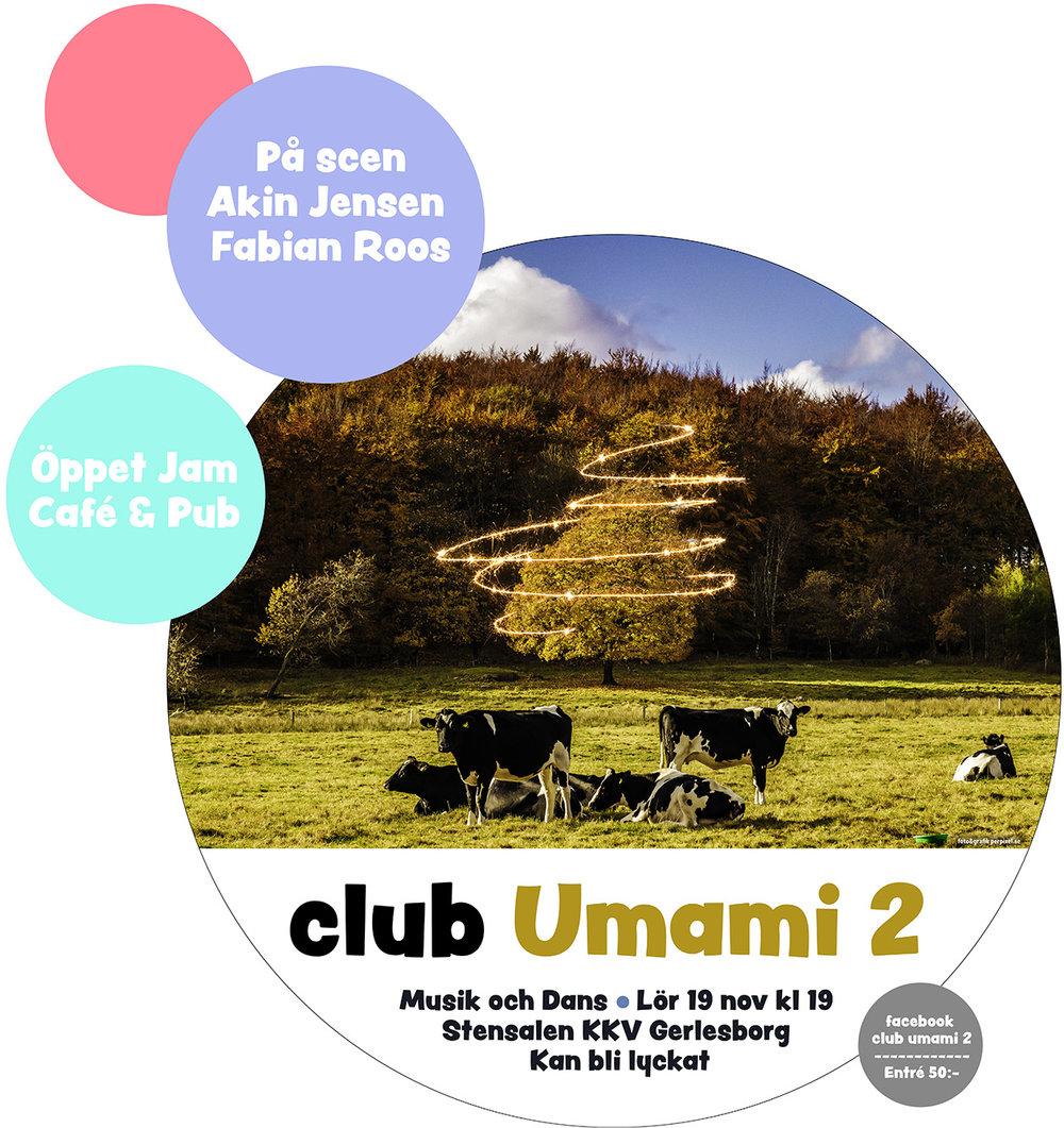 Affisch inför festen Umami2