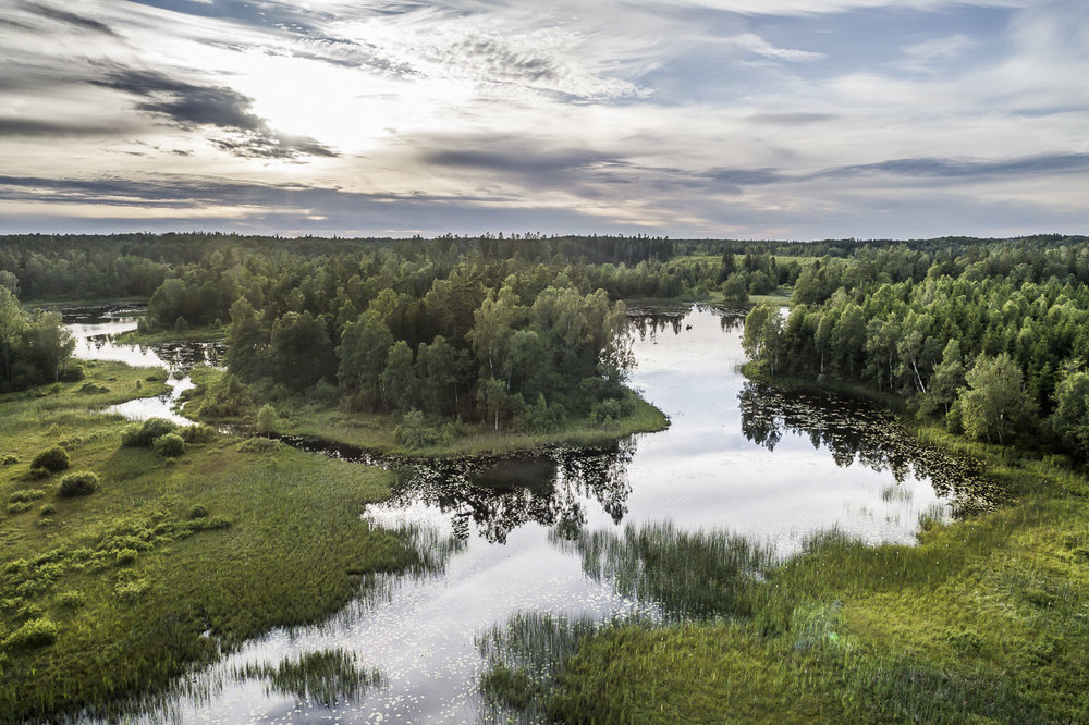 Fina småsjöar i inre Halland