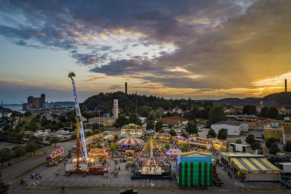 Tivoli på Uddevallafestivalen