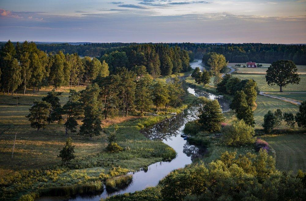 Ån Nossan i Västergötland