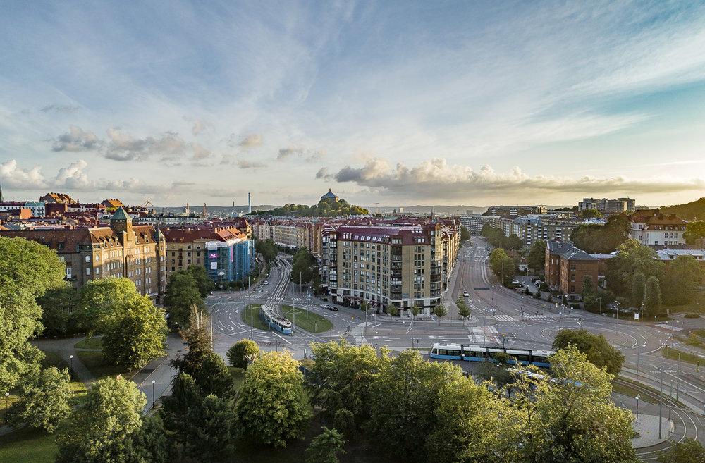 Linnéplatsen i Göteborg