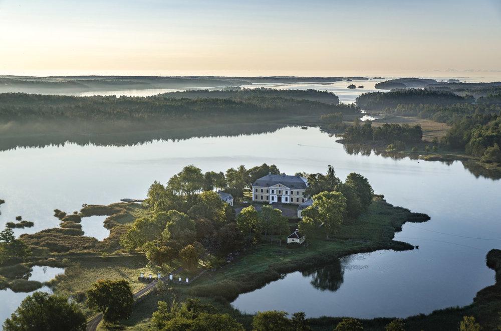 Fågelviks herrgård i Östergötland
