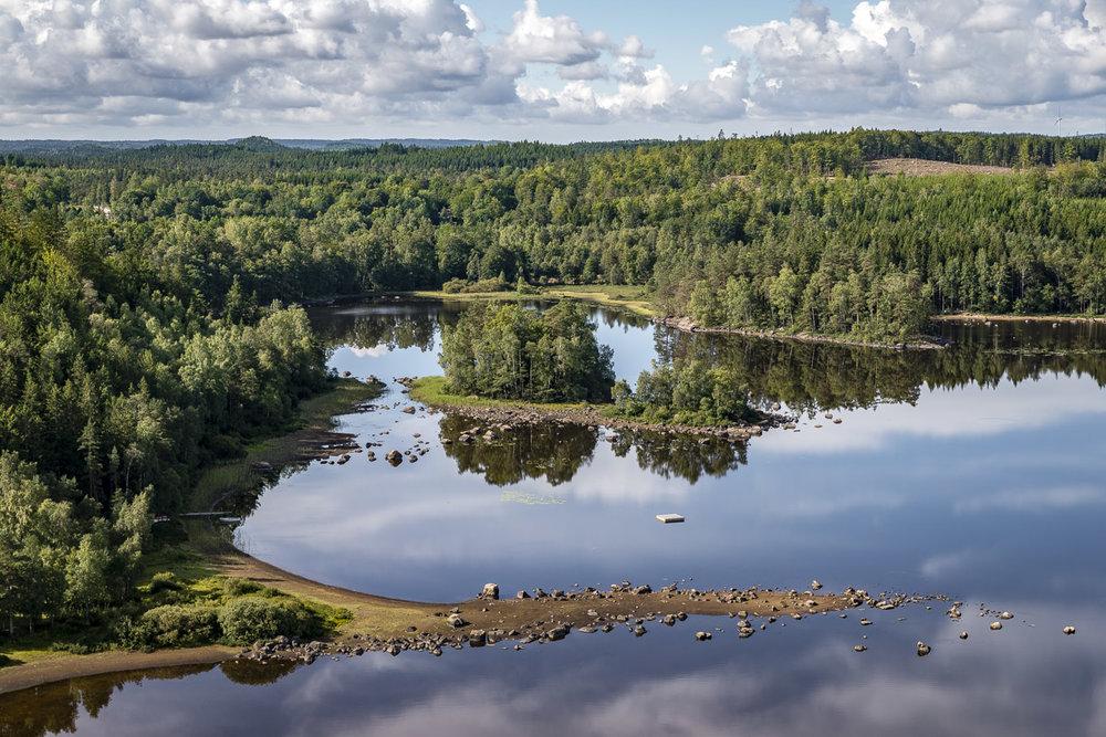 Yttre Mjäla i östra Halland