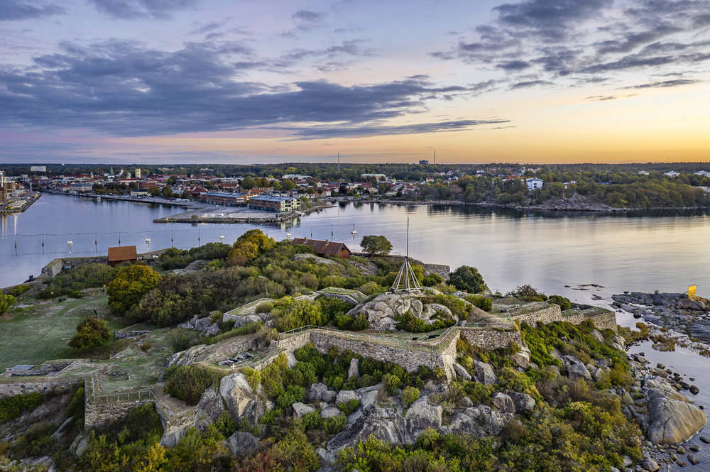 Ön Kastellet utanför Karlshamn