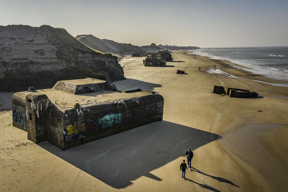 Bunkers från WW2 - Löcken i Jylland