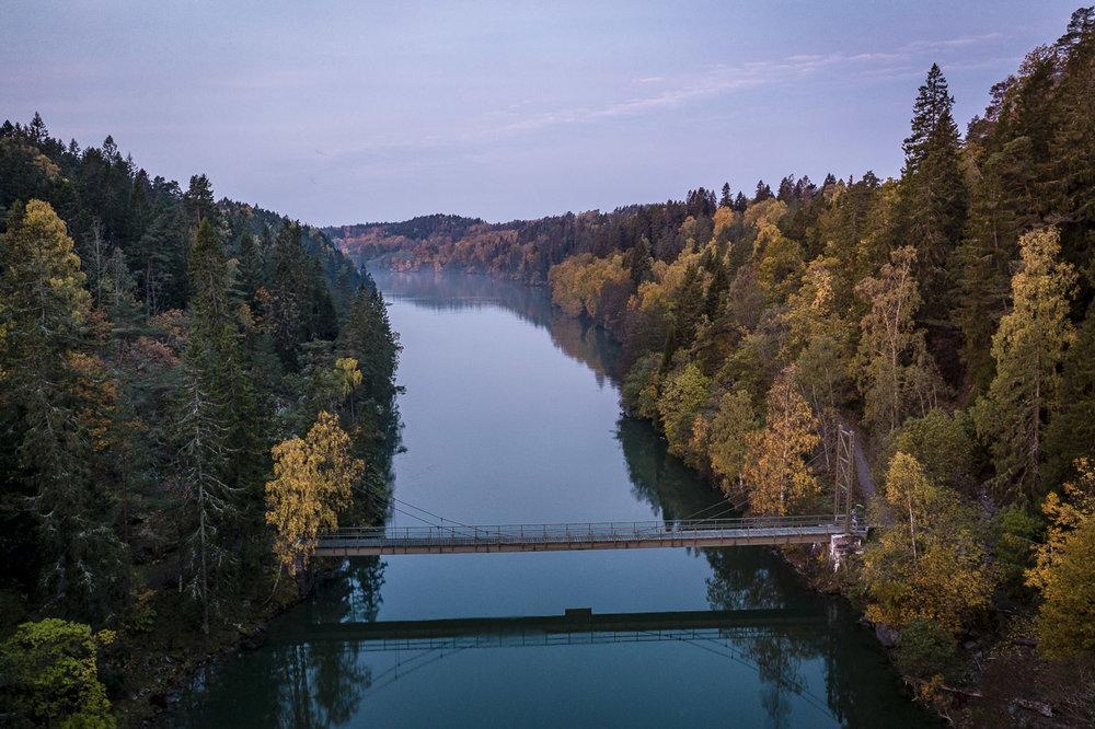 Göta Älv söder om Trollhättan