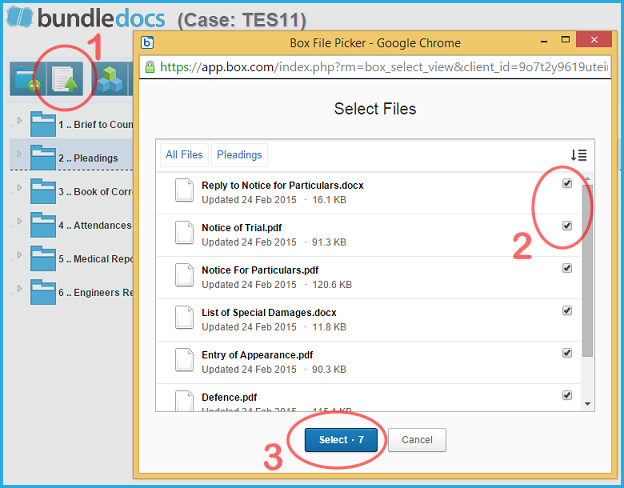 Bundledocs Box Integration