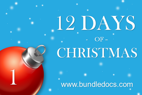 Bundledocs Announce 12 Days of Christmas