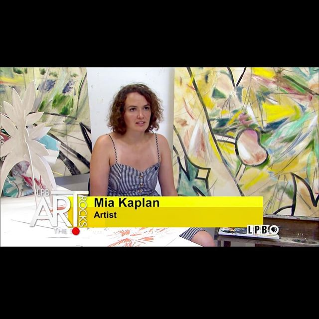 From last night's episode of ART ROCKS on PBS @lpb_org - Link to the show is on my profile. 💛
