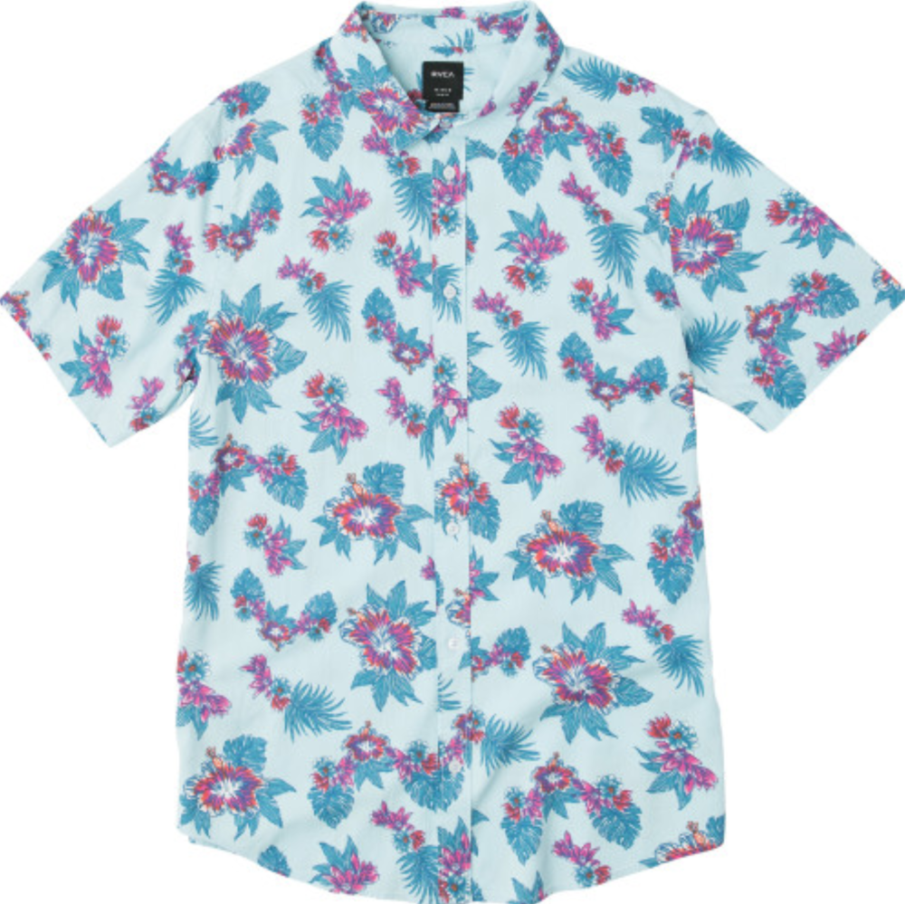RVCA McMillan Floral Wove          Black Floral                                 $55