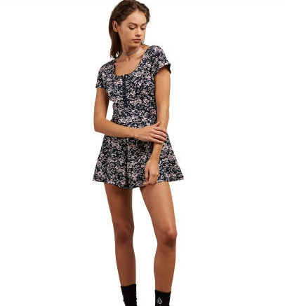 Volcom What a Looker Romper Coral Haze                  $45