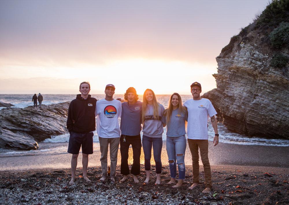 Central Coast Surf Crew April 2018