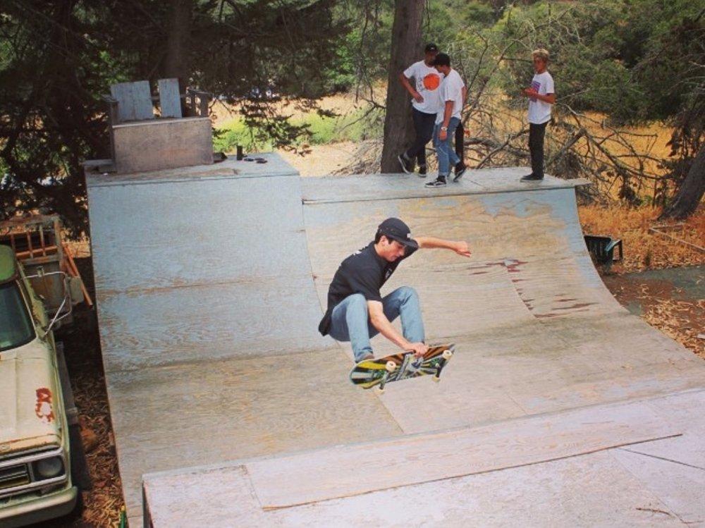 Corbett Horn Skate Team