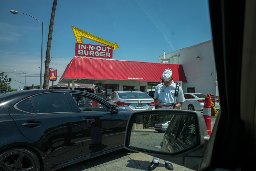 "In n Out Secret Menu suggestion: ""the Briggie""--Double Double, animal style, add pickles and raw onion, hold the lettuce and tomato. Finally, something good from In n Out"