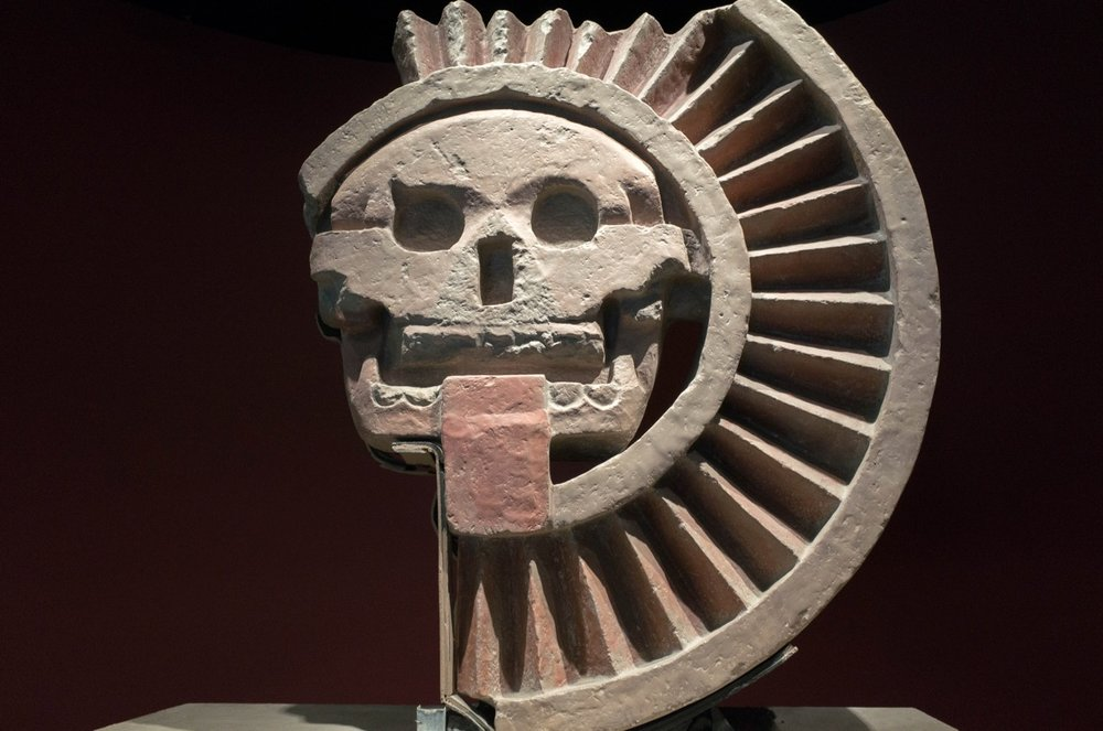 There was a big part of the museum about Teotihuacan, which we were already experts of from our visit two days before.