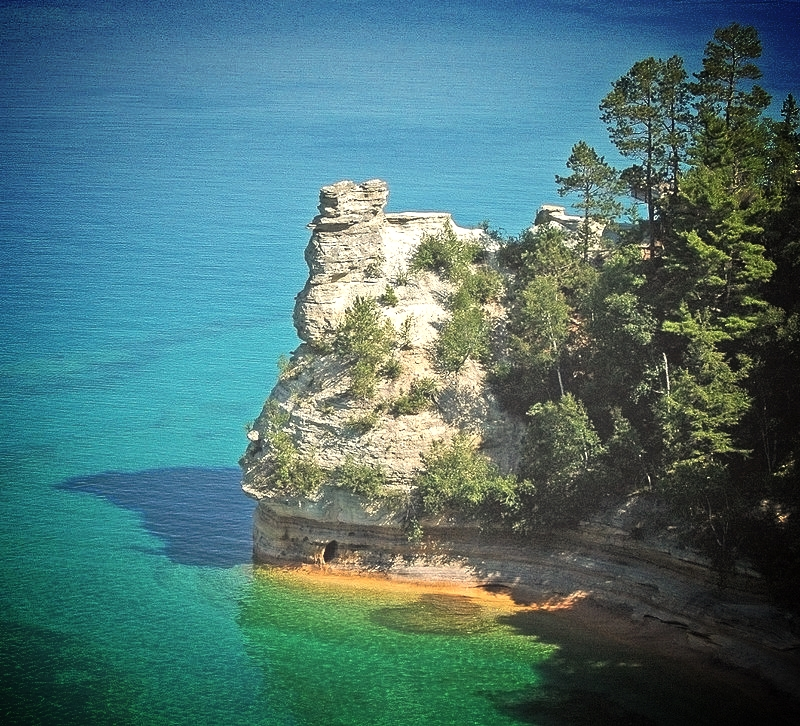 Pictured Rocks National Lakeshore.  Munising, MI