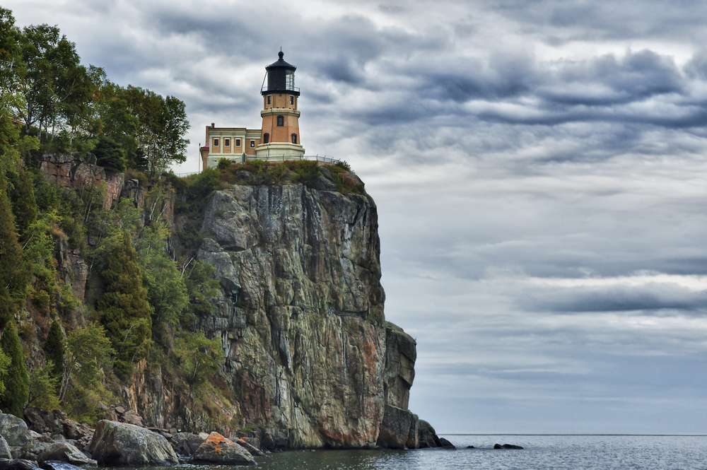 Split Rock Lighthouse.  North Shore of Lake Superior.