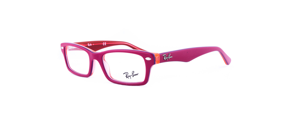 lentes ray ban armazon rojo