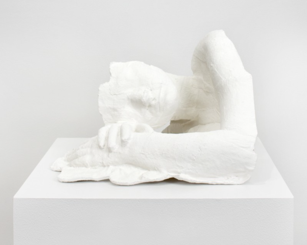 George Segal  Girl Resting, 1970, plaster and gauze, edition of 75