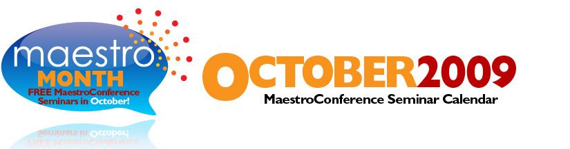 Maestro Month