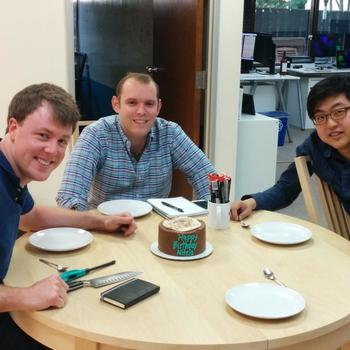 Nitrio's birthday after 1 year of heads down R&D.