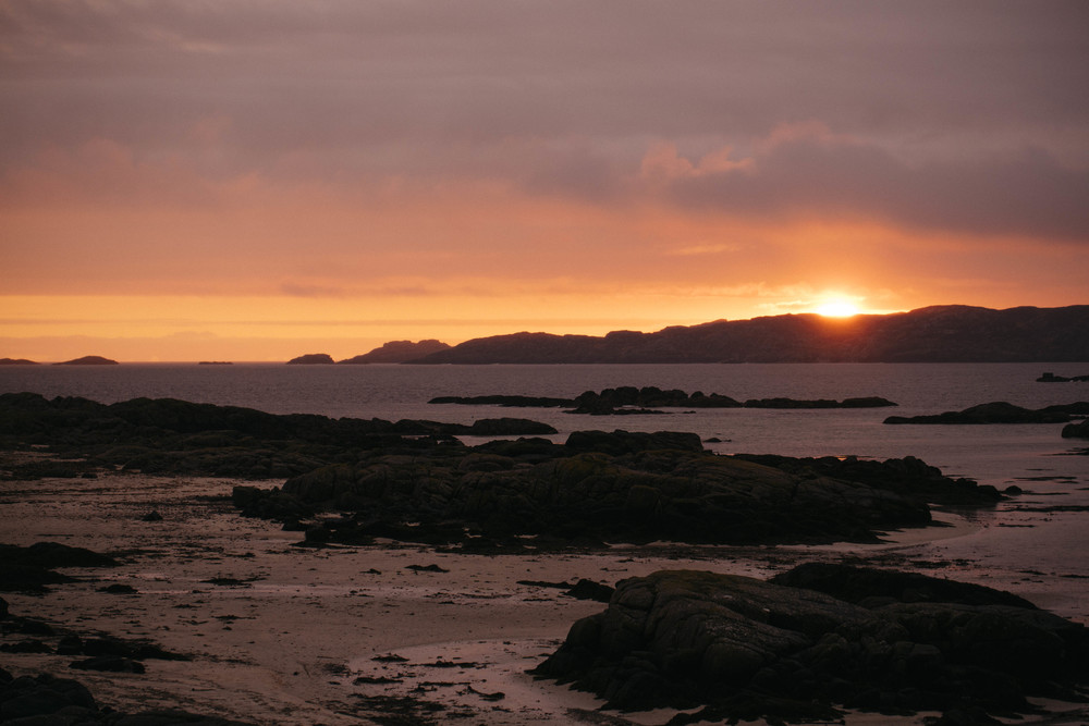 Isle of Mull Sunset