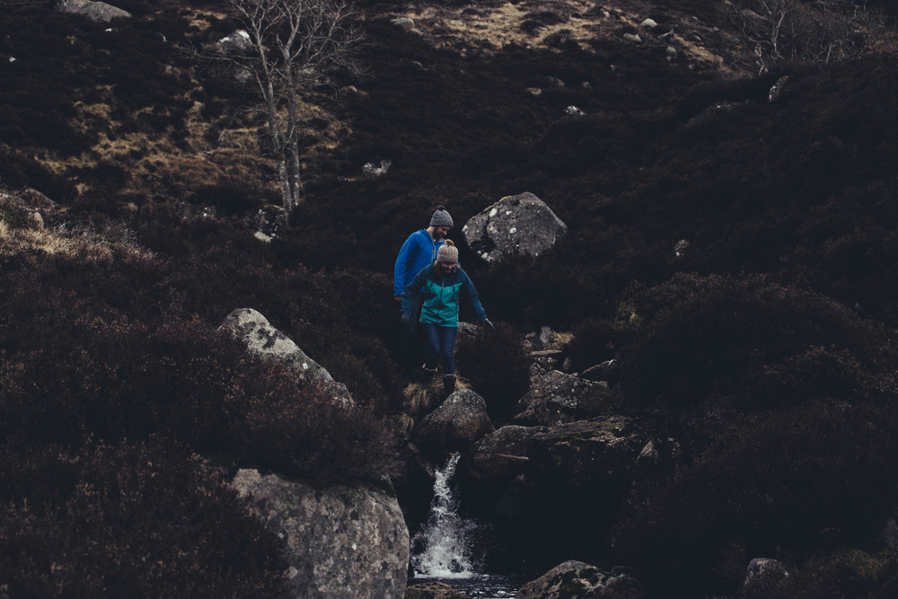 Loch Muick Engagement Session