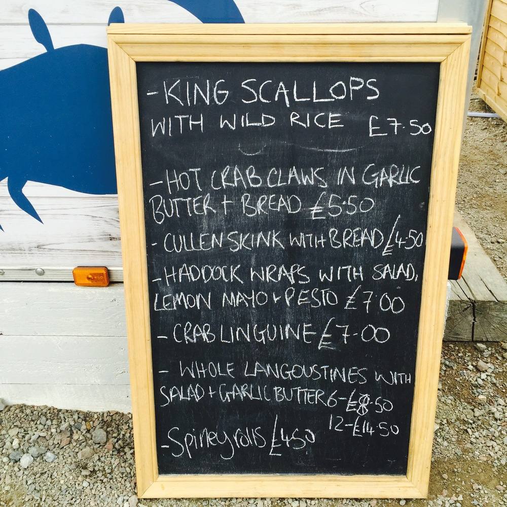 The Seafood Shack, Ullapool