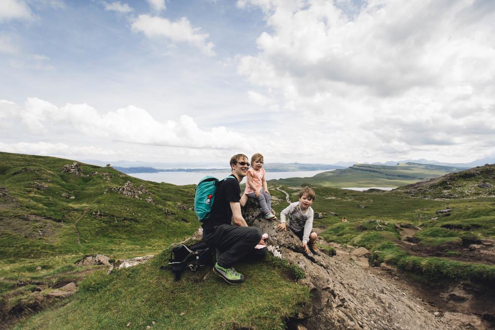 Walking with children, Scotland
