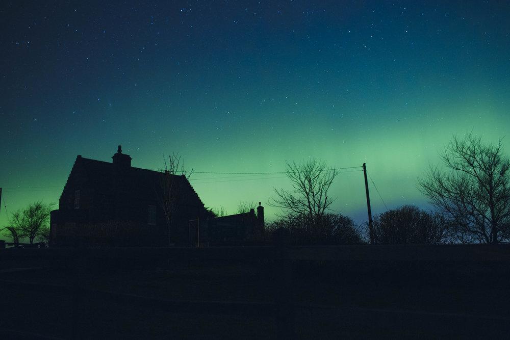 Aurora Borealis Scotland