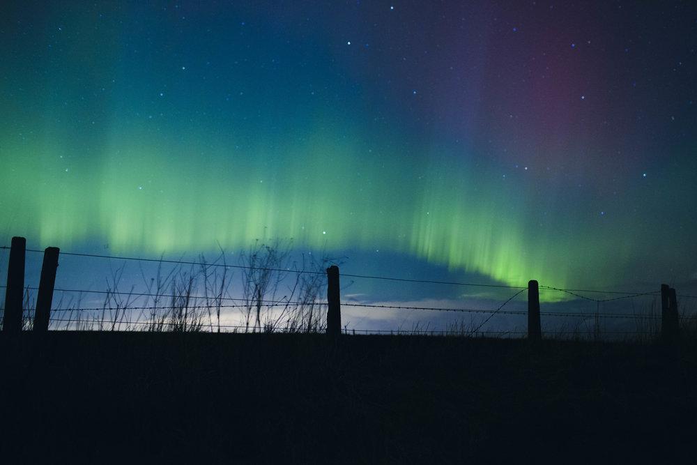 Aurora Borealis, Scotland