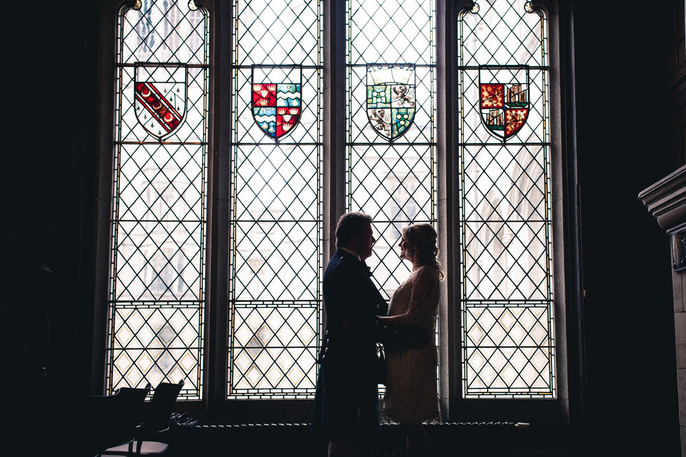 Wedding Grant Room Marischal College Aberdeen