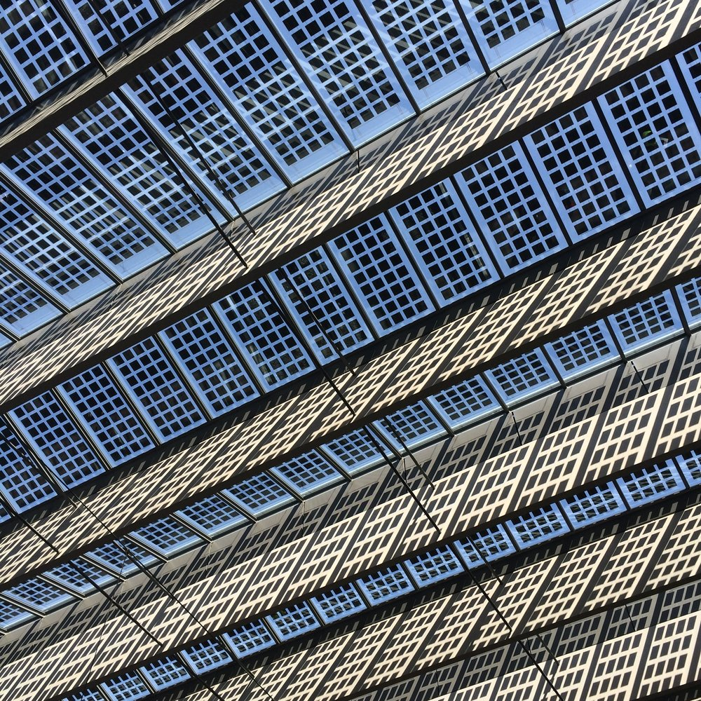 Rotterdam central station - solar rooftop