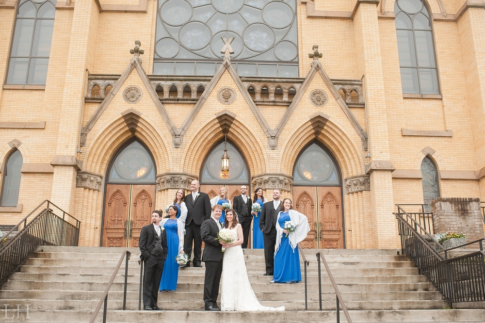 St Andrew's Roanoke VA Wedding