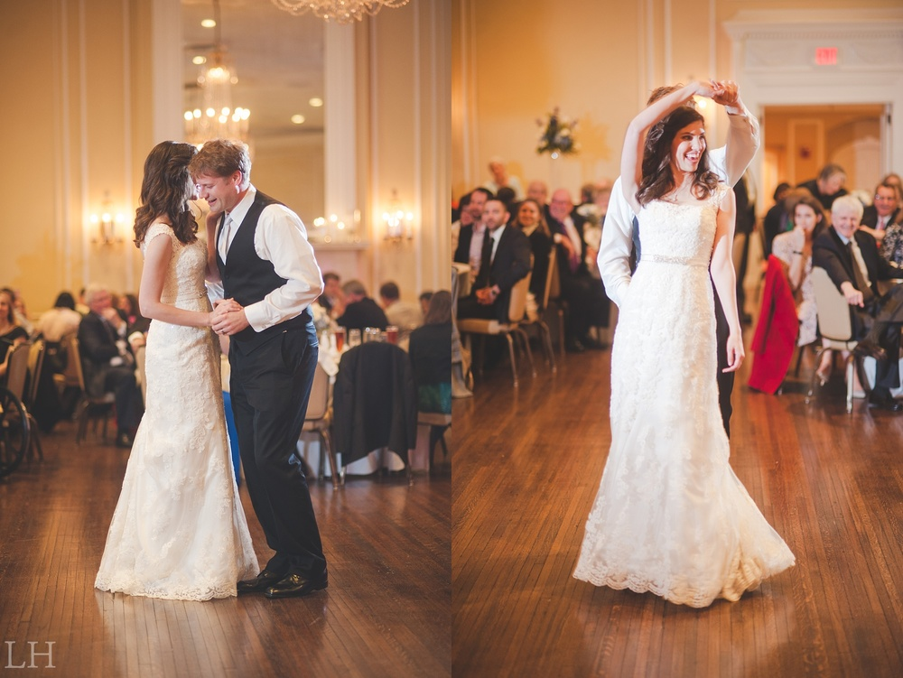 Historic Patrick Henry Hotel Wedding