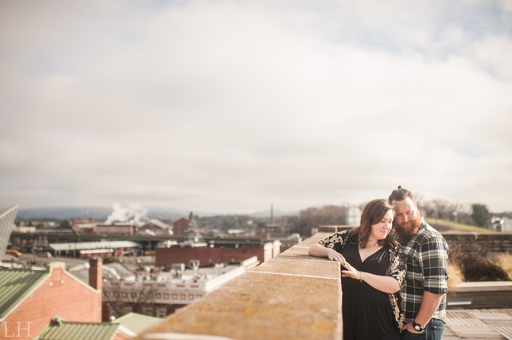 Downtown Roanoke VA Engagement Session