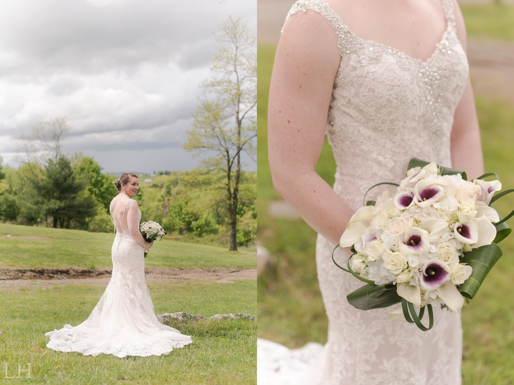 Chateau Morrisette Winery Wedding - Lori Hedrick Photography