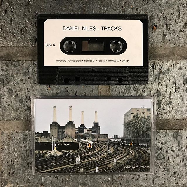 🚦Tracks - A 30 min instrumental hip-hop beat tape from the boards of Daniel Miles aka @lordsupermalt is available now over on the site. Cassette tape purchase comes with digital download link. . . #215berks #tracks