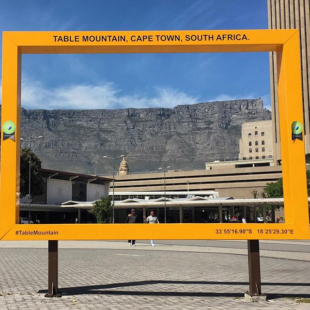 What a view! #publicspace #capetown #tablemountain #yourstoshare #freeWiFi #comingsoon