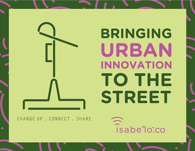 Bringing #urban #innovation to the street. For more info see www.isabelo.co (link in bio)